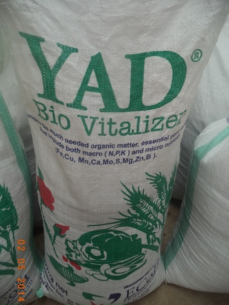 YAD Bio-Vitalizer - Packed in 50kgs